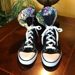 Coach Bonney Butterfly Hightop Shoes